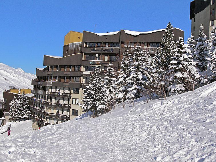 Studio 4 Pers skis aux pieds / BOEDETTE 109