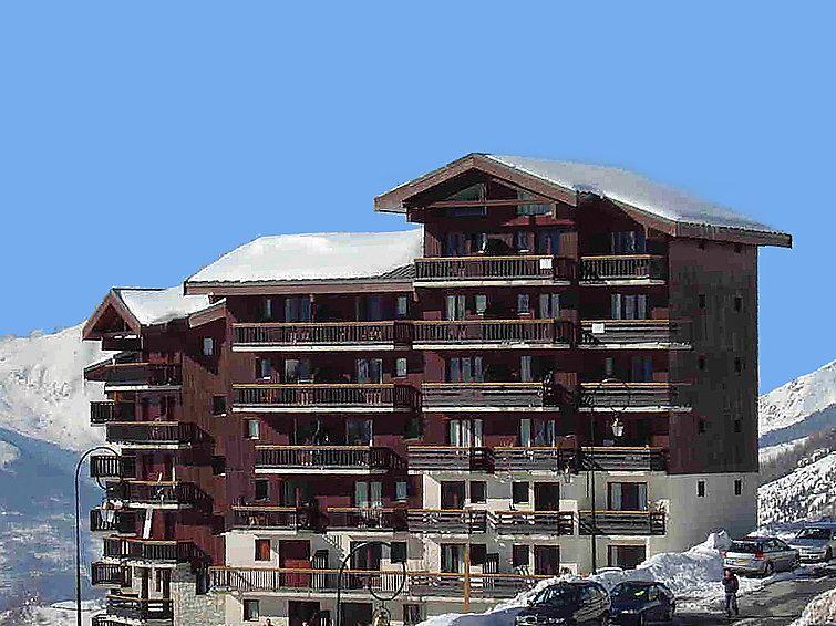 2 Pièces 4 Pers skis aux pieds / BALCONS D'OLYMPIE 323