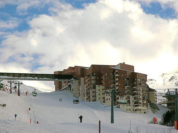 4 Pers Studio Ski-in Ski-out / SKI SOLEIL I 1403