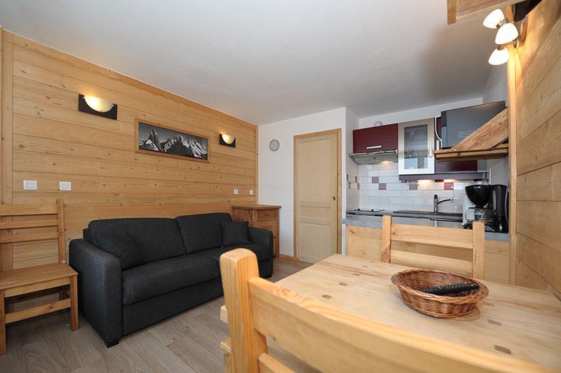 3 Pers Studio ski-in ski-out / DORONS 503