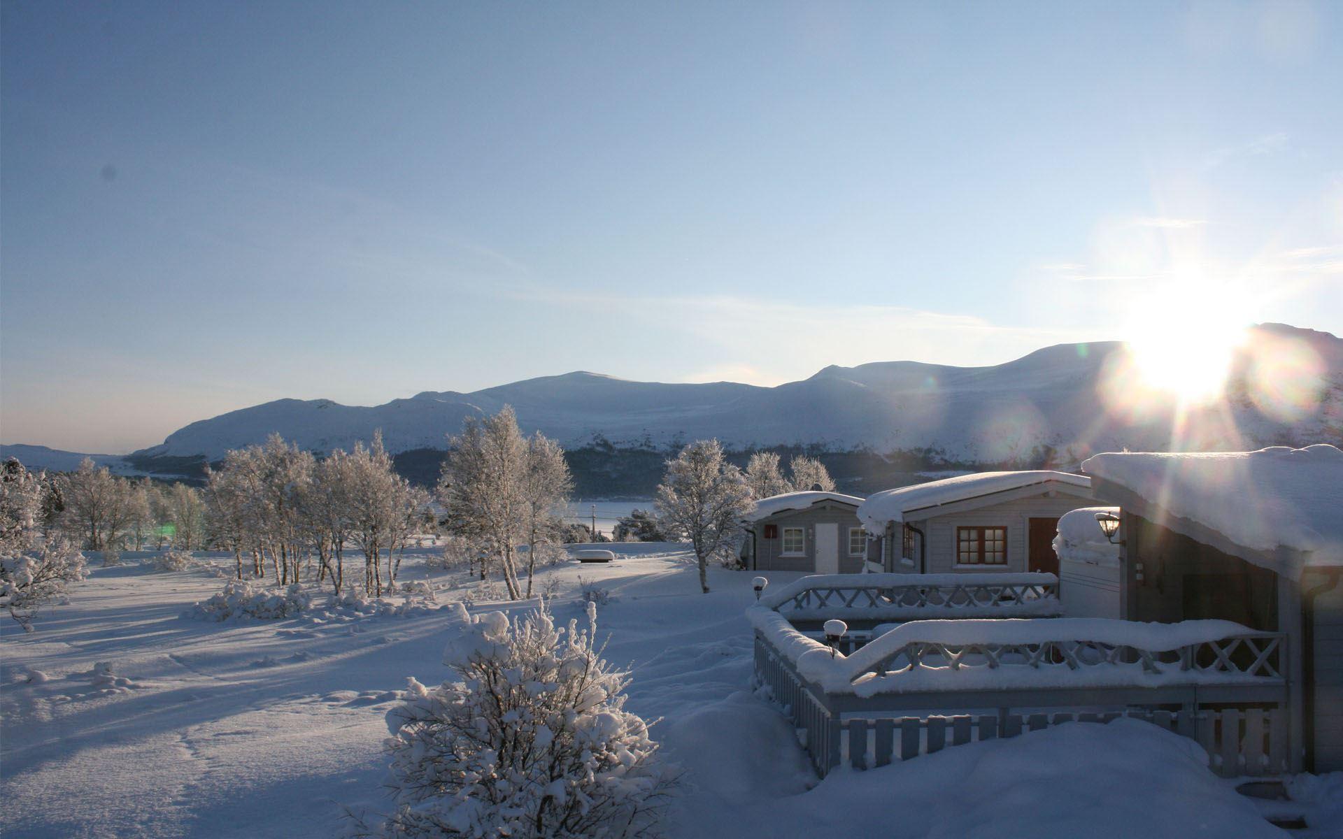 Jotunheimen Caravan Camp - et flott sted sommer som vinter!