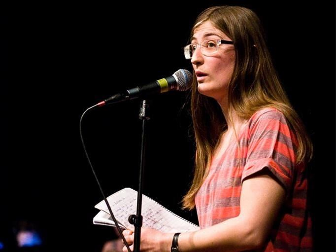 Sanna Hedlund,  © Sanna Hedlund, Poetry Slam