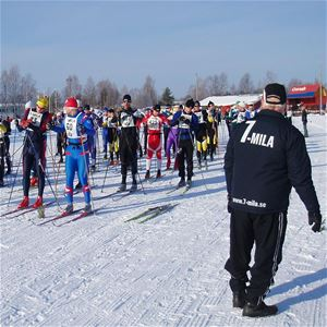 7-mila cross country skii race