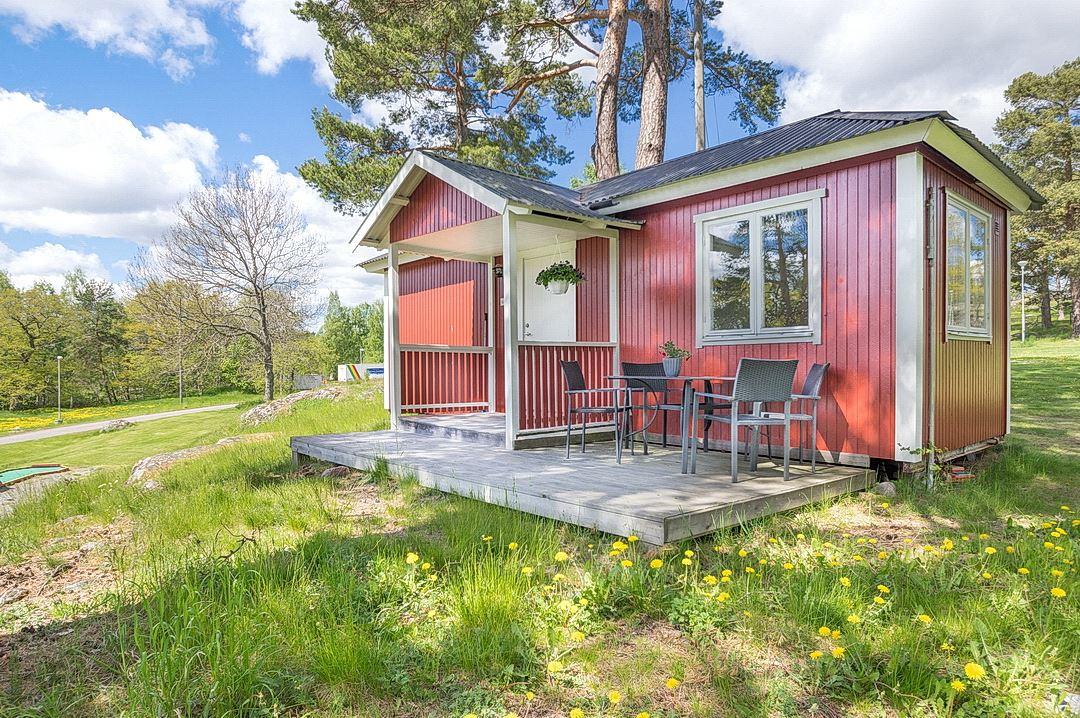 Cottage type D (4 beds, 21 m², WC/shower)