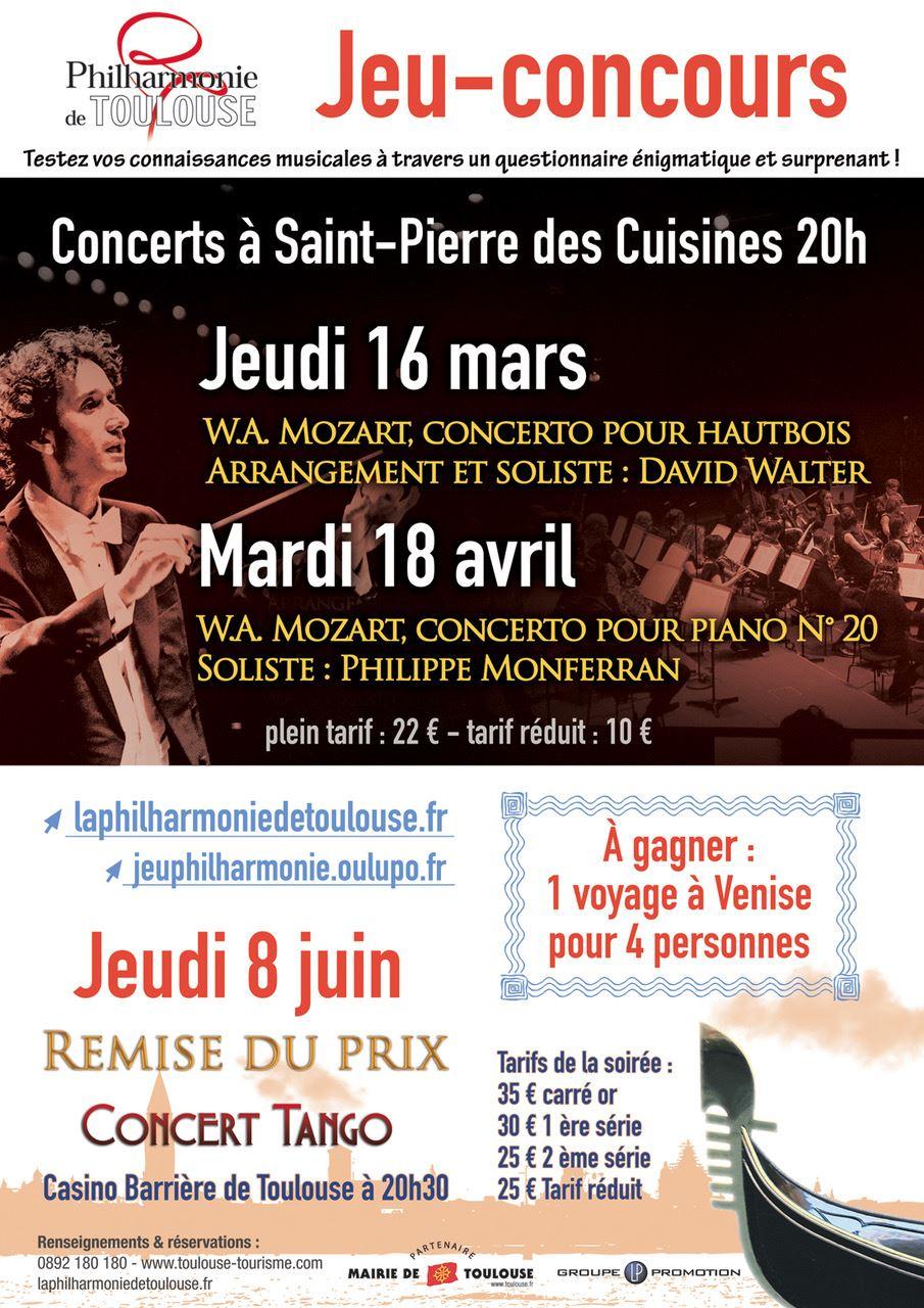 Concert de la Philarmonie de Toulouse