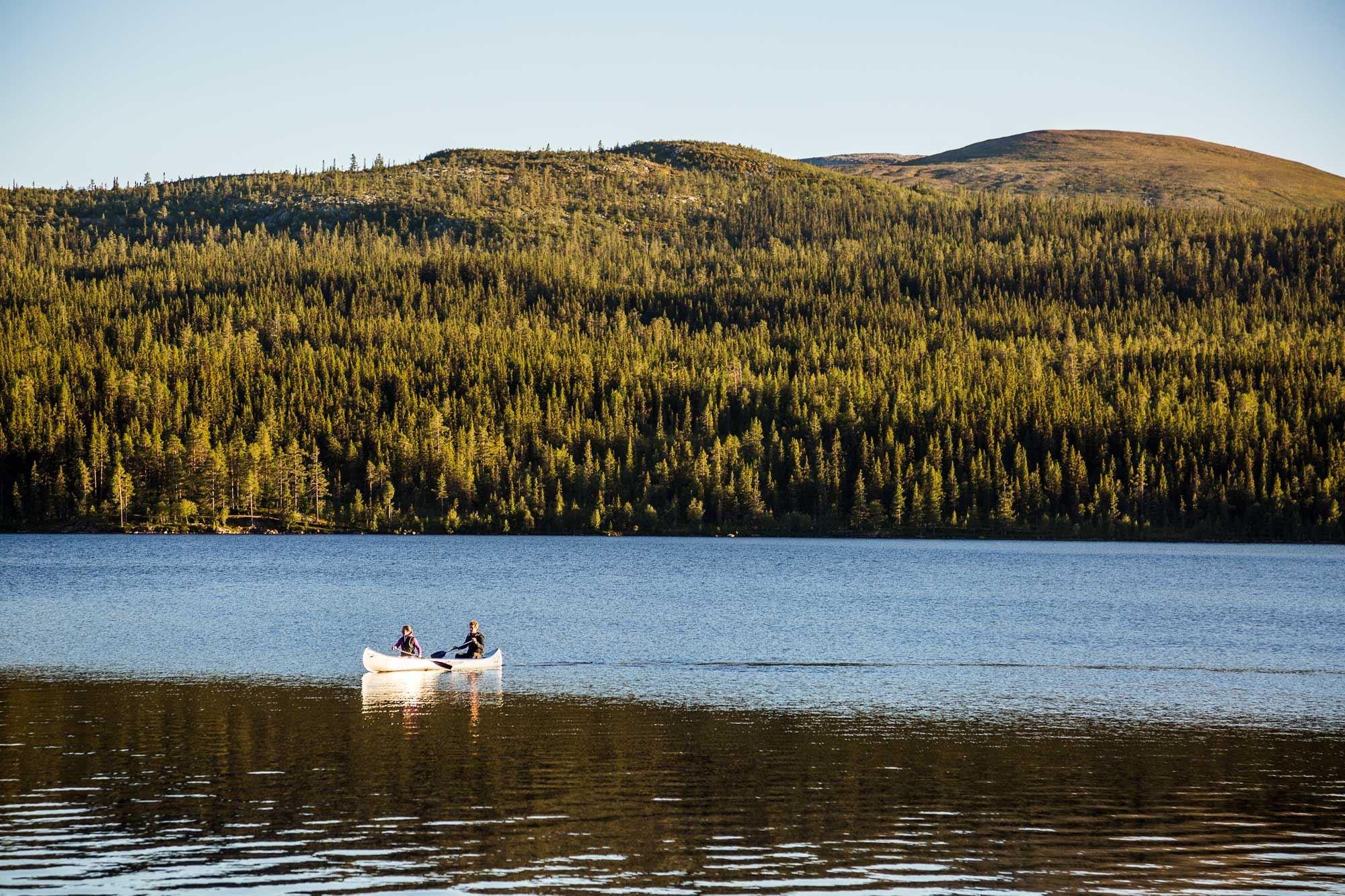 Hyr kanot