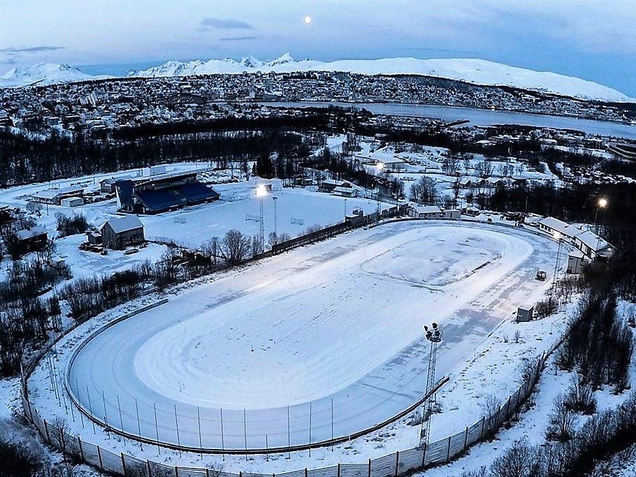 Visit Tromsdalen speed skating track - Tromsø Kommune