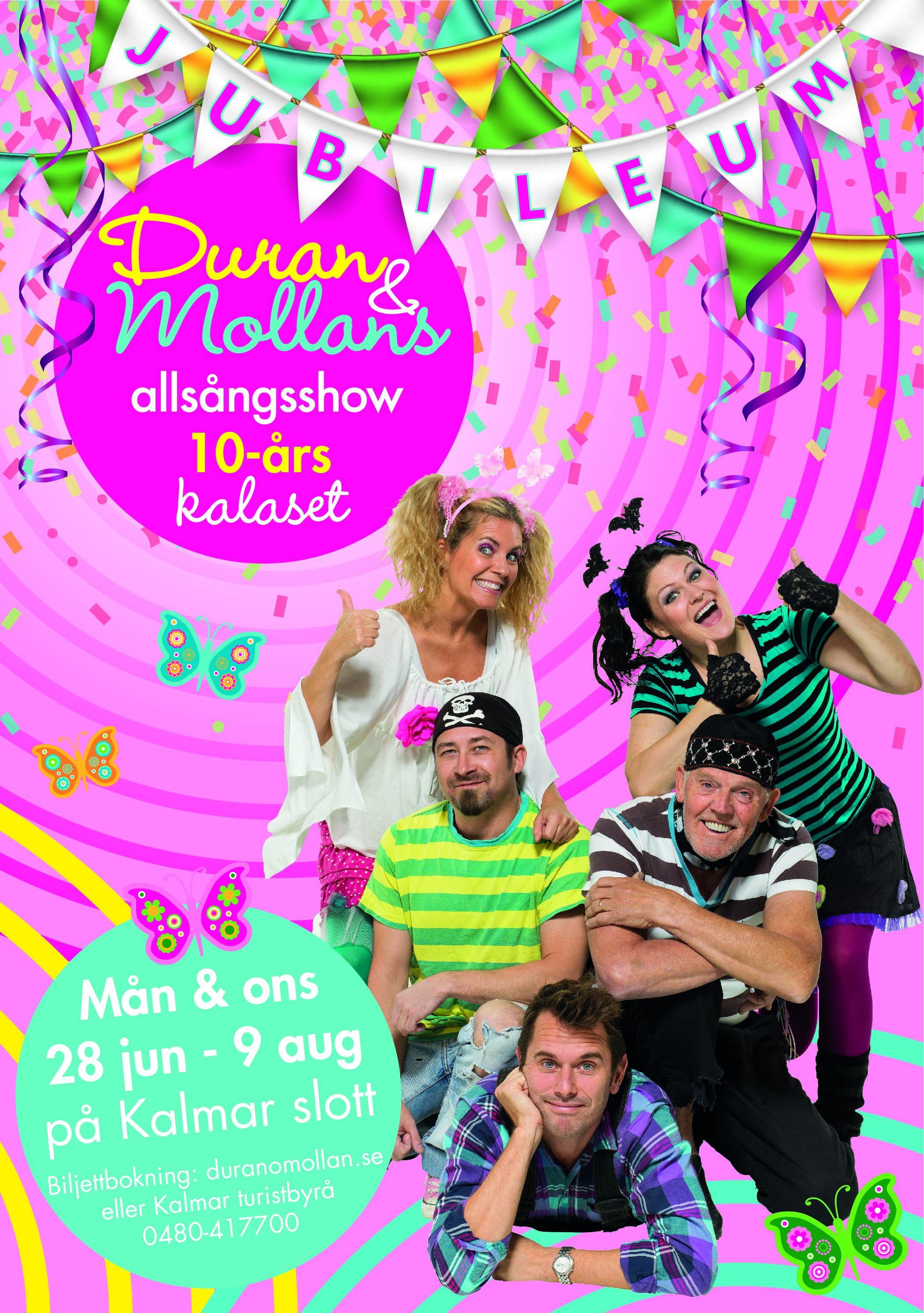 Duran & Mollans allsångsshow - 10-årskalaset