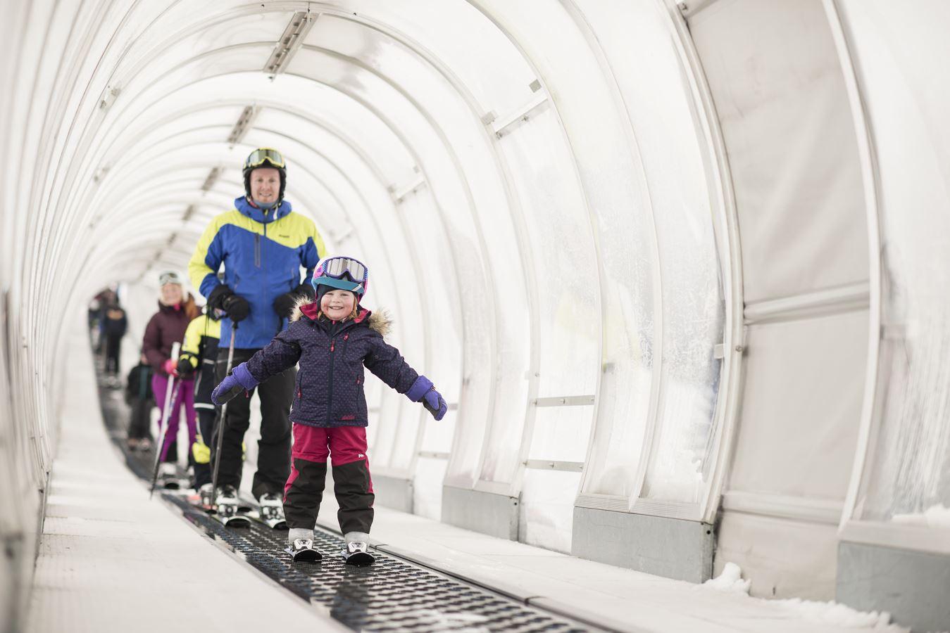 KIDS Rail og hopp med skiskolen