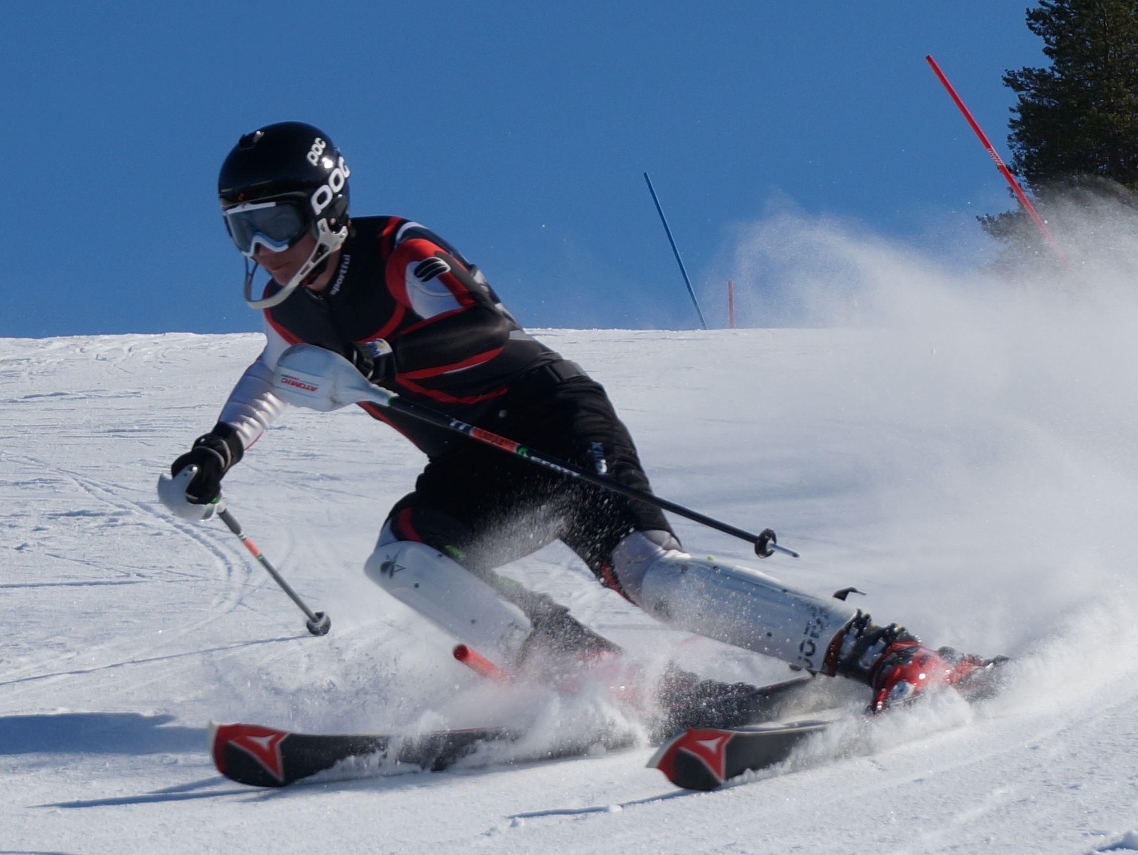 Slalomåkare, Buberget