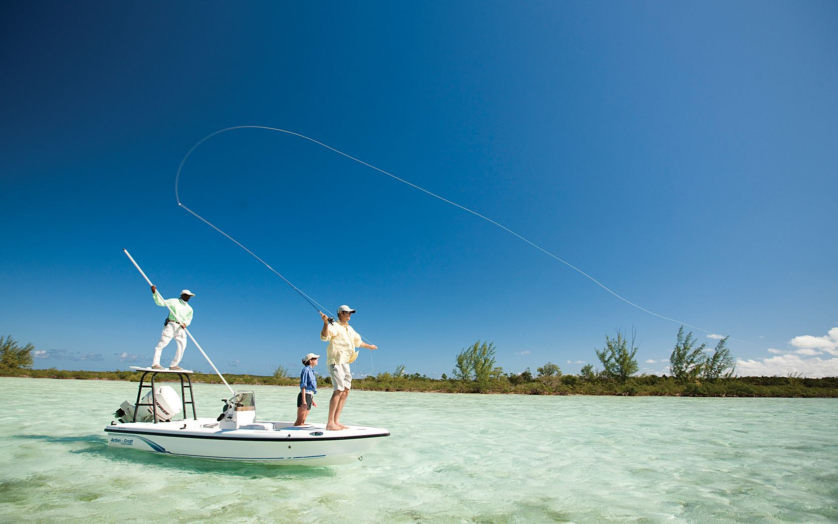private fly fishing in Roatan