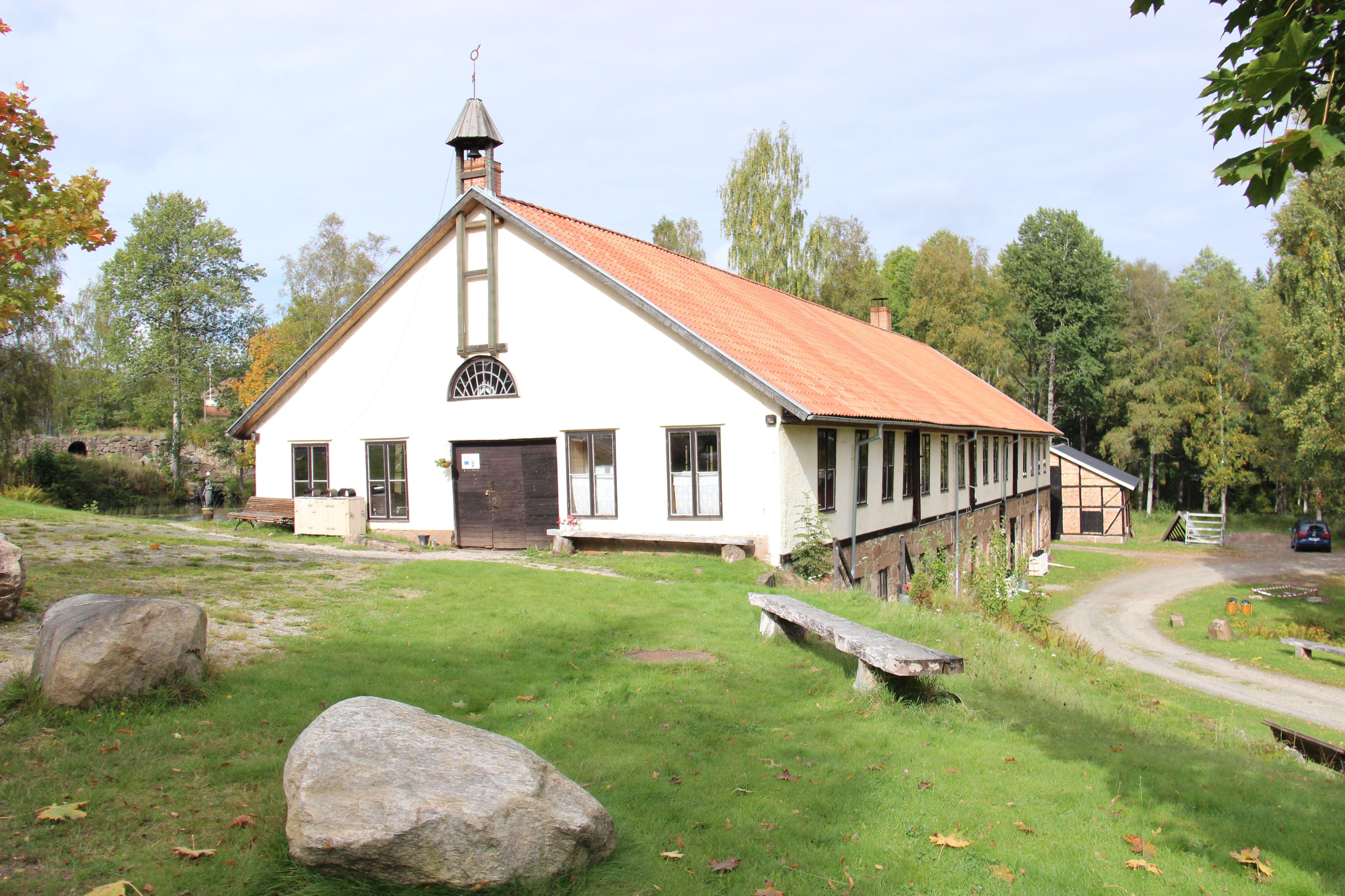 Sommarcafé & hantverkarna i Marieholm