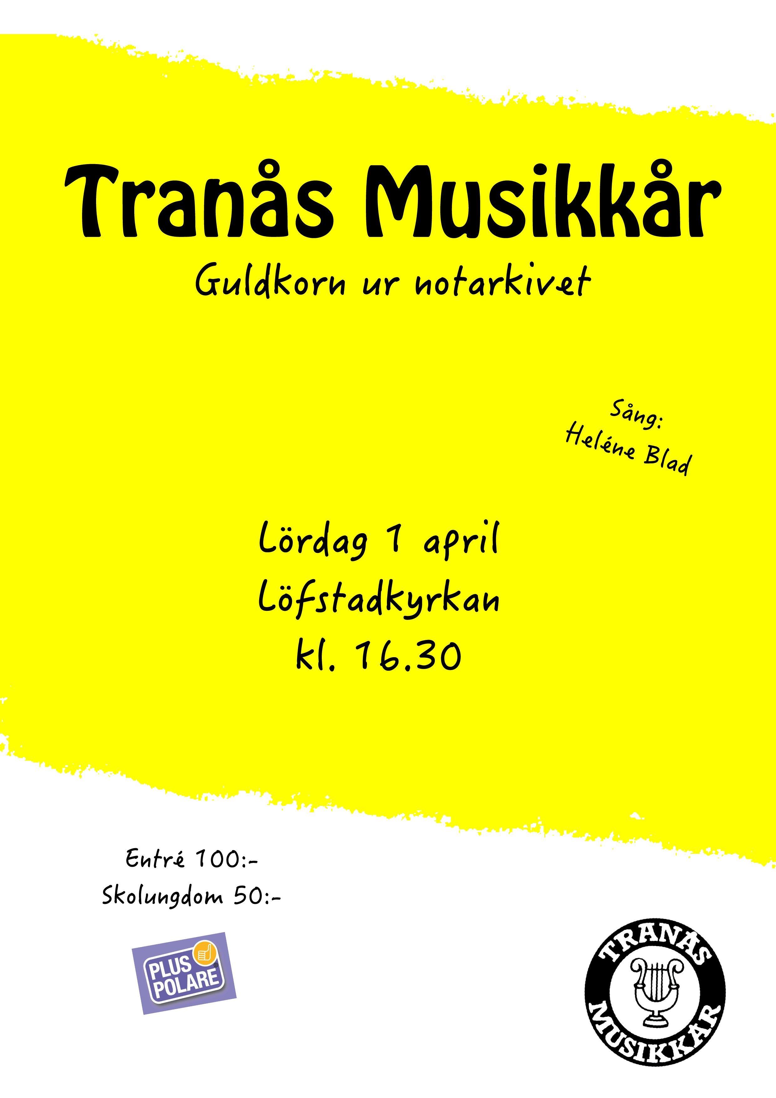 Konsert med Tranås Musikkår
