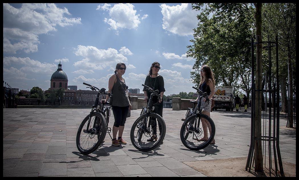 Balade en vélo électrique