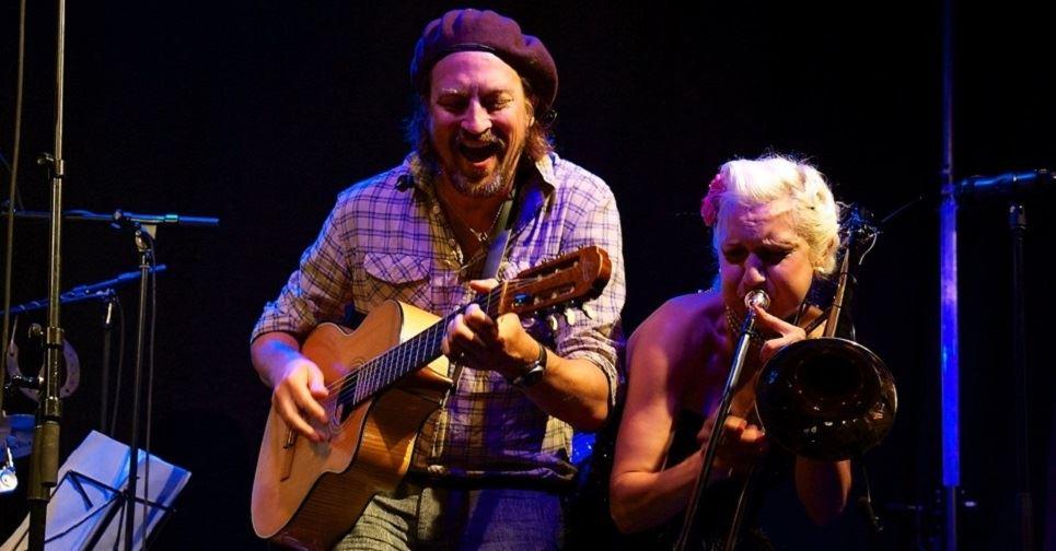 Wille Craford och Gunhild Carling
