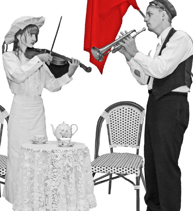 Musikaliskt möte i motsättingarnas tid