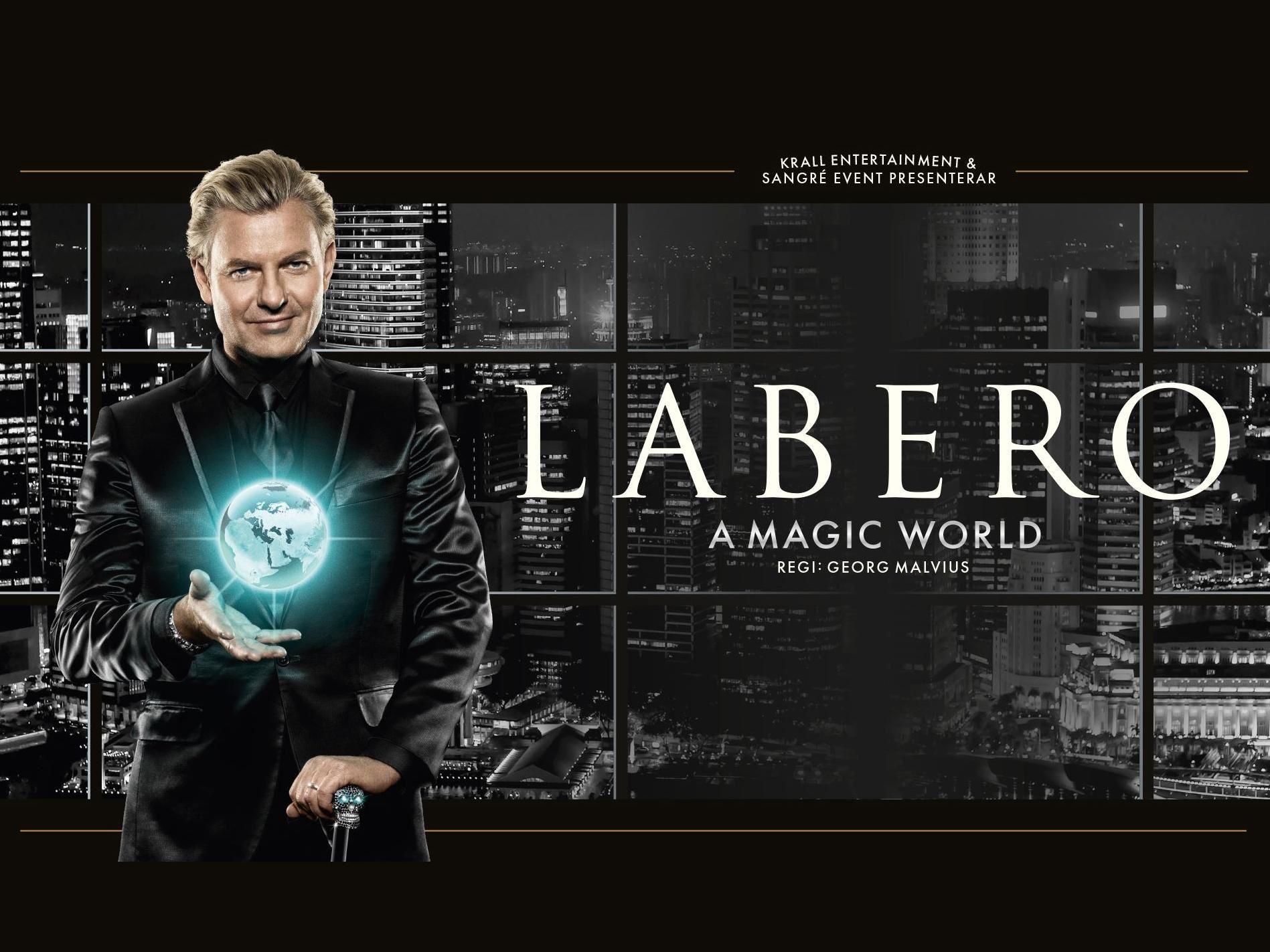 Joe Labero A Magic World