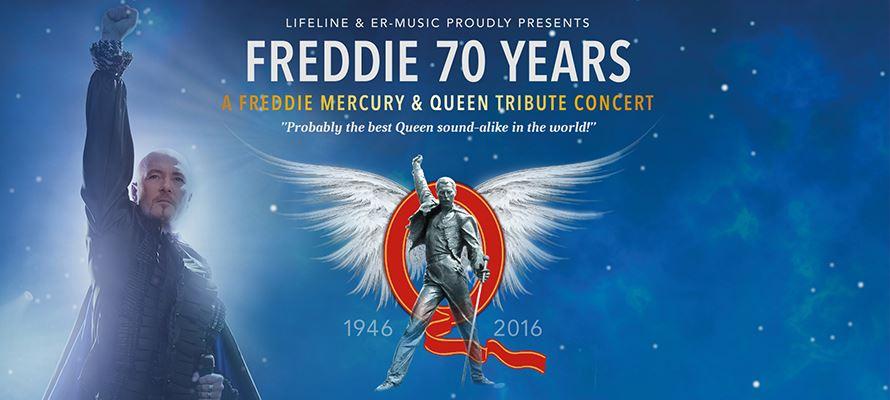 Freddie 70 years