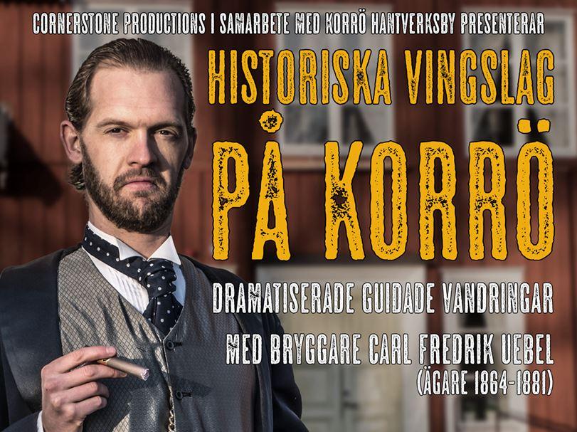 Historiska Vingslag på Korrö