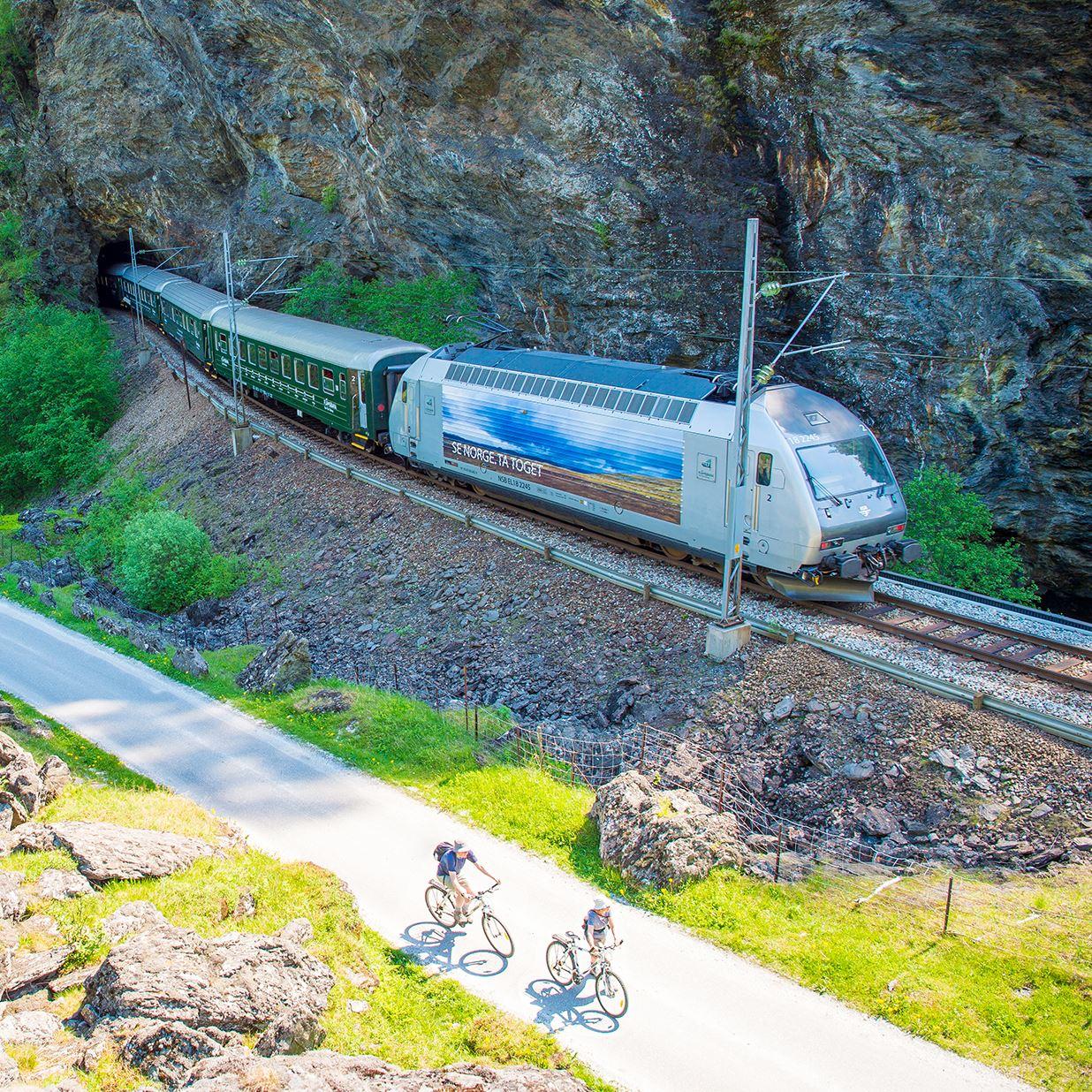 Sverre Hjørnevik, The Flåm Railway