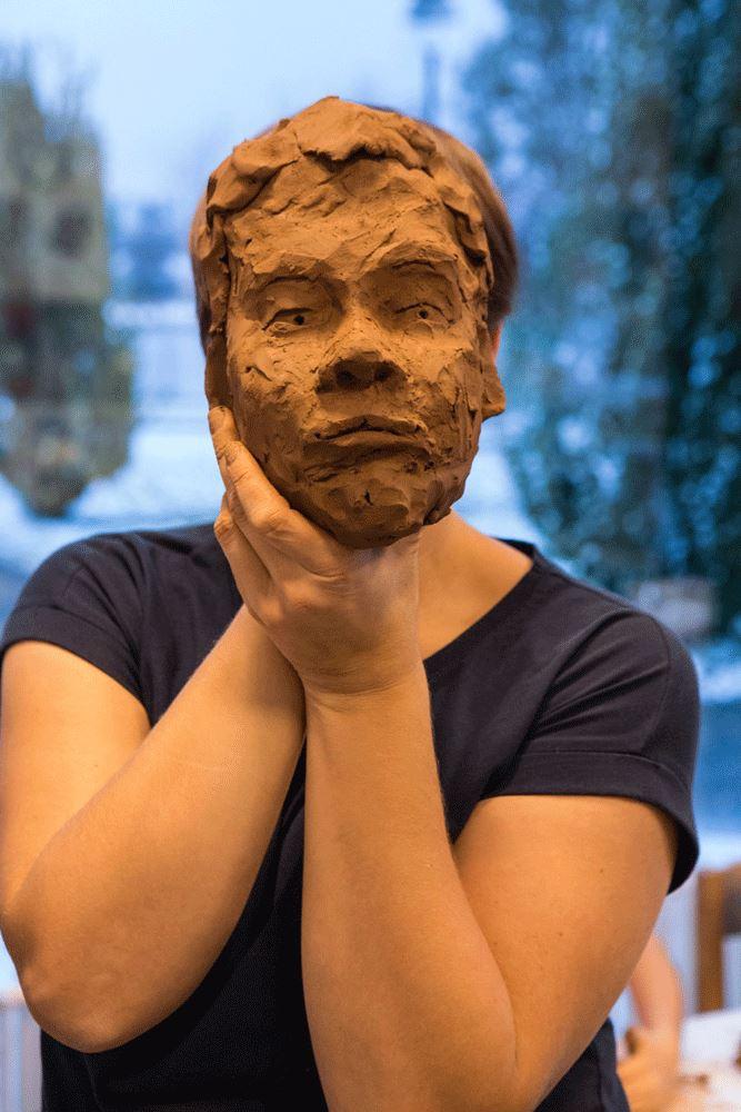 © Skådebanan, Konstens dag: Porträtt i lera