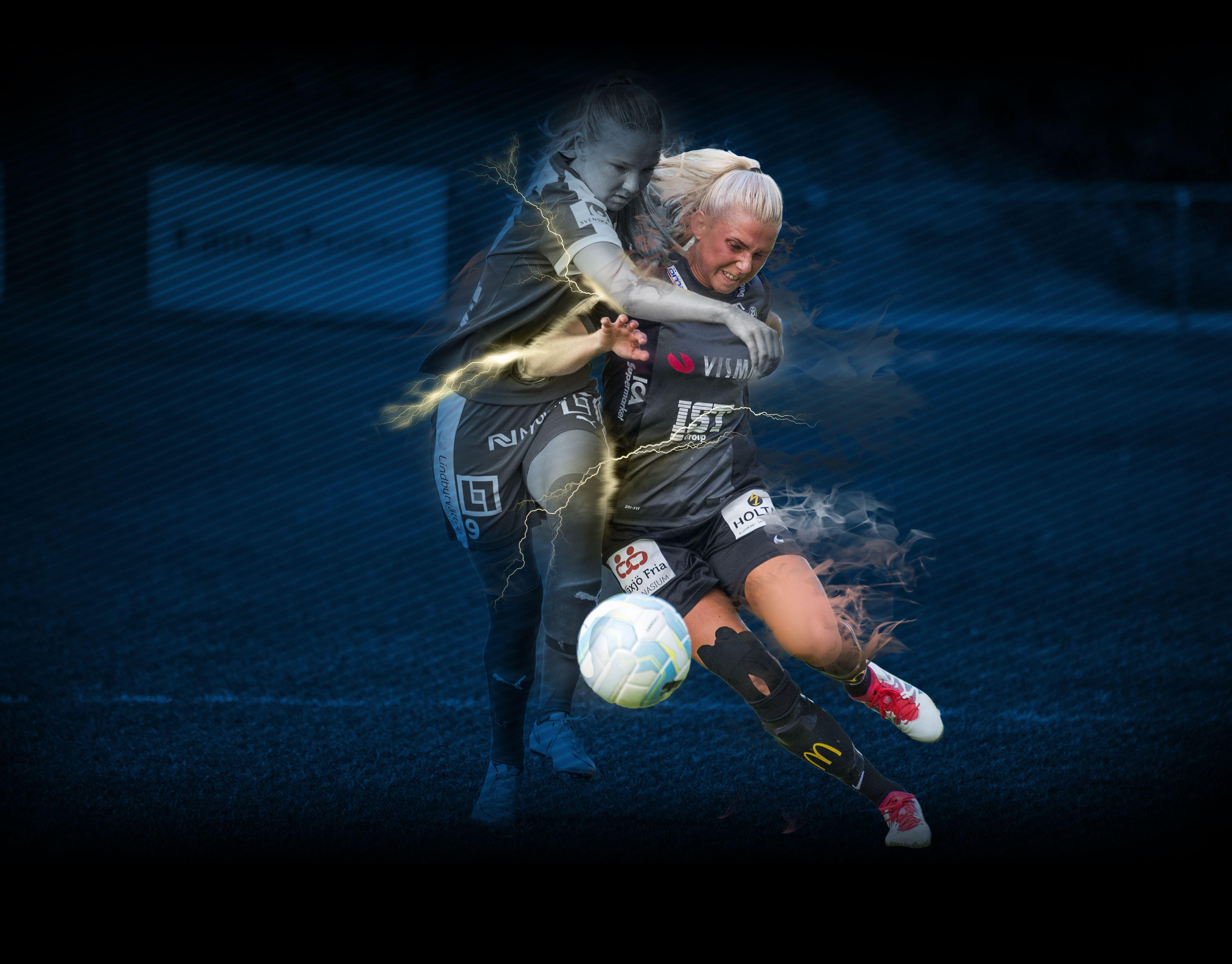 Fotboll: Växjö DFF -IF Böljan