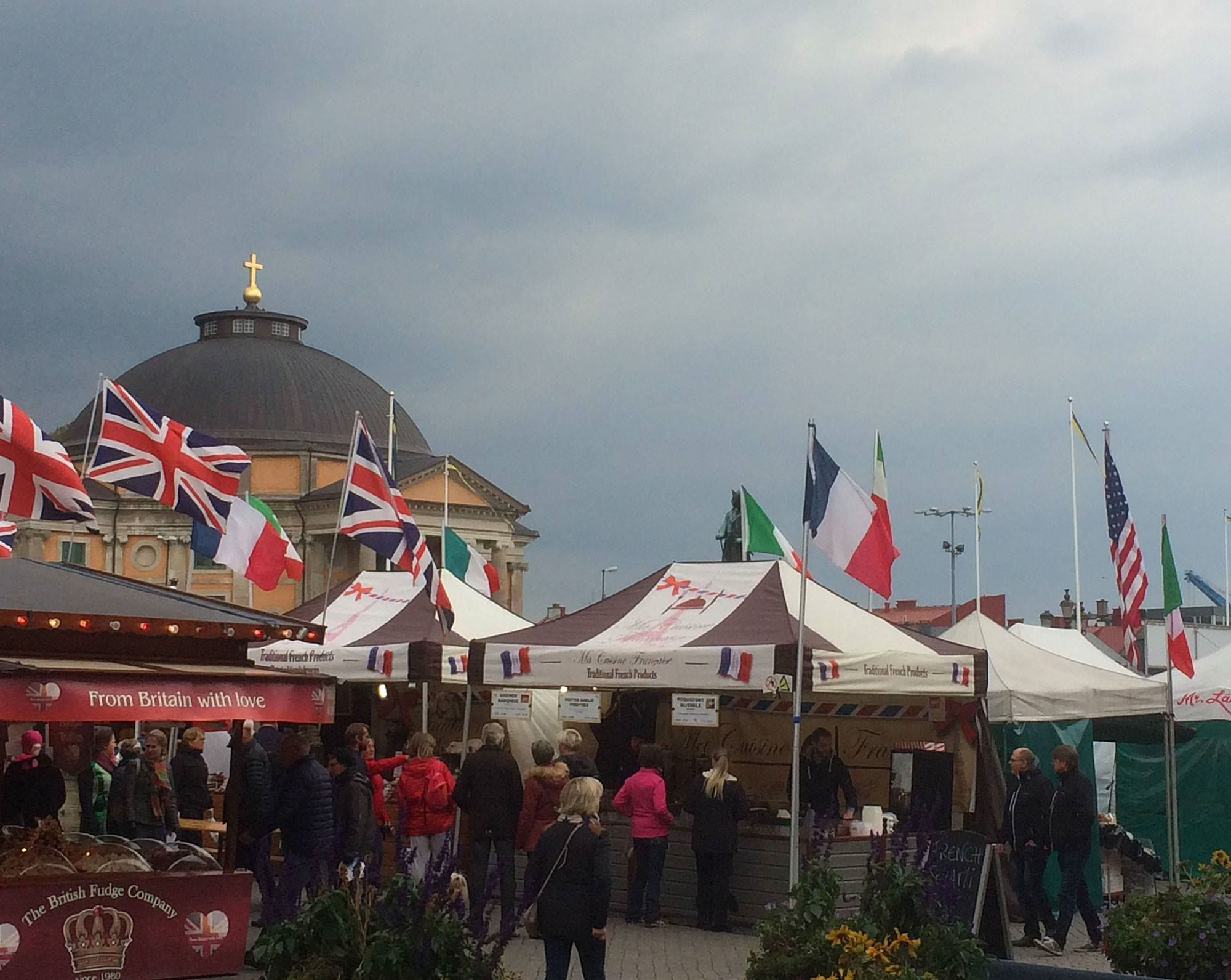 International Street Market Stortorget Karlskrona