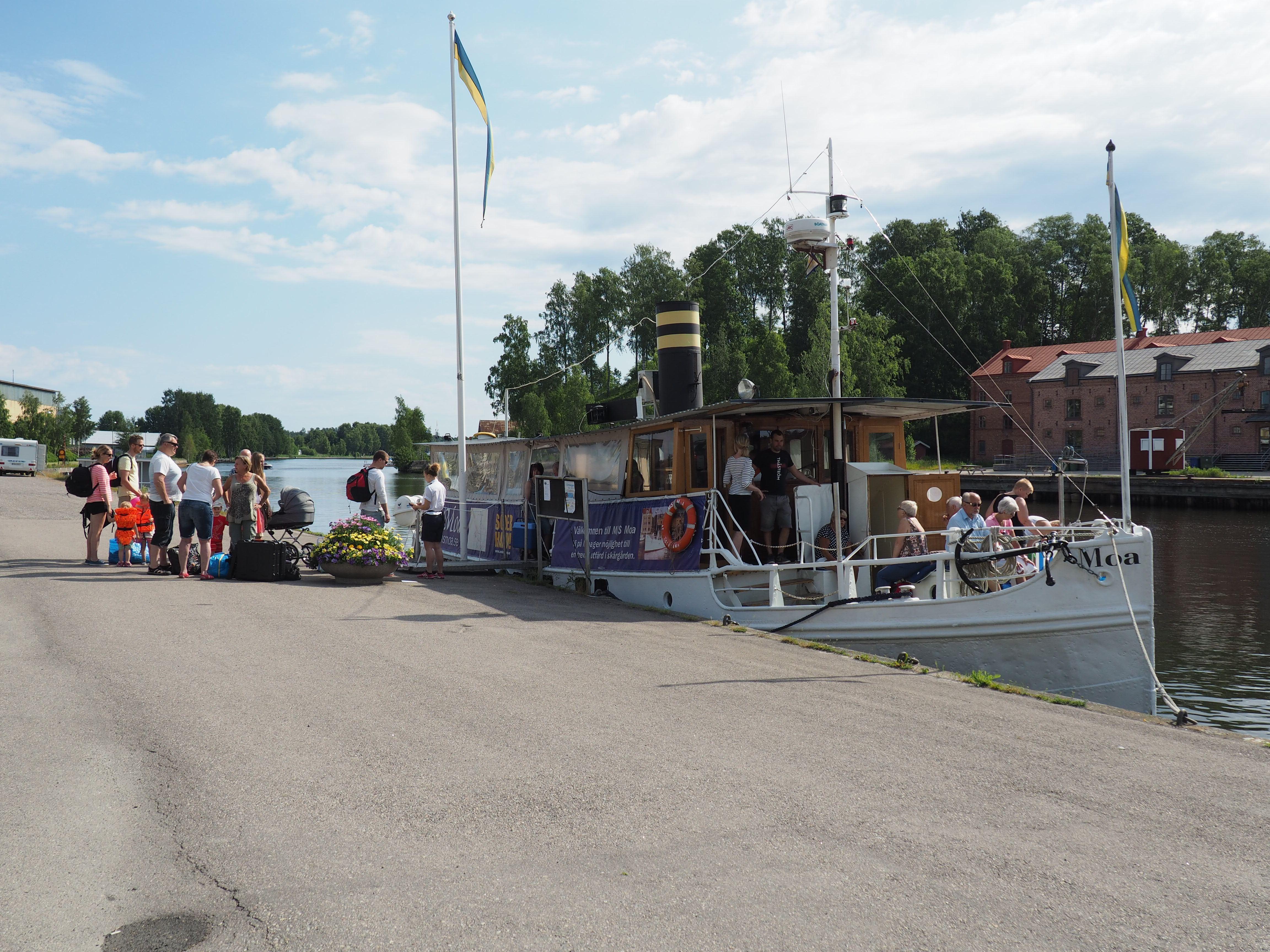 Dagsturer med båten M/S Moa