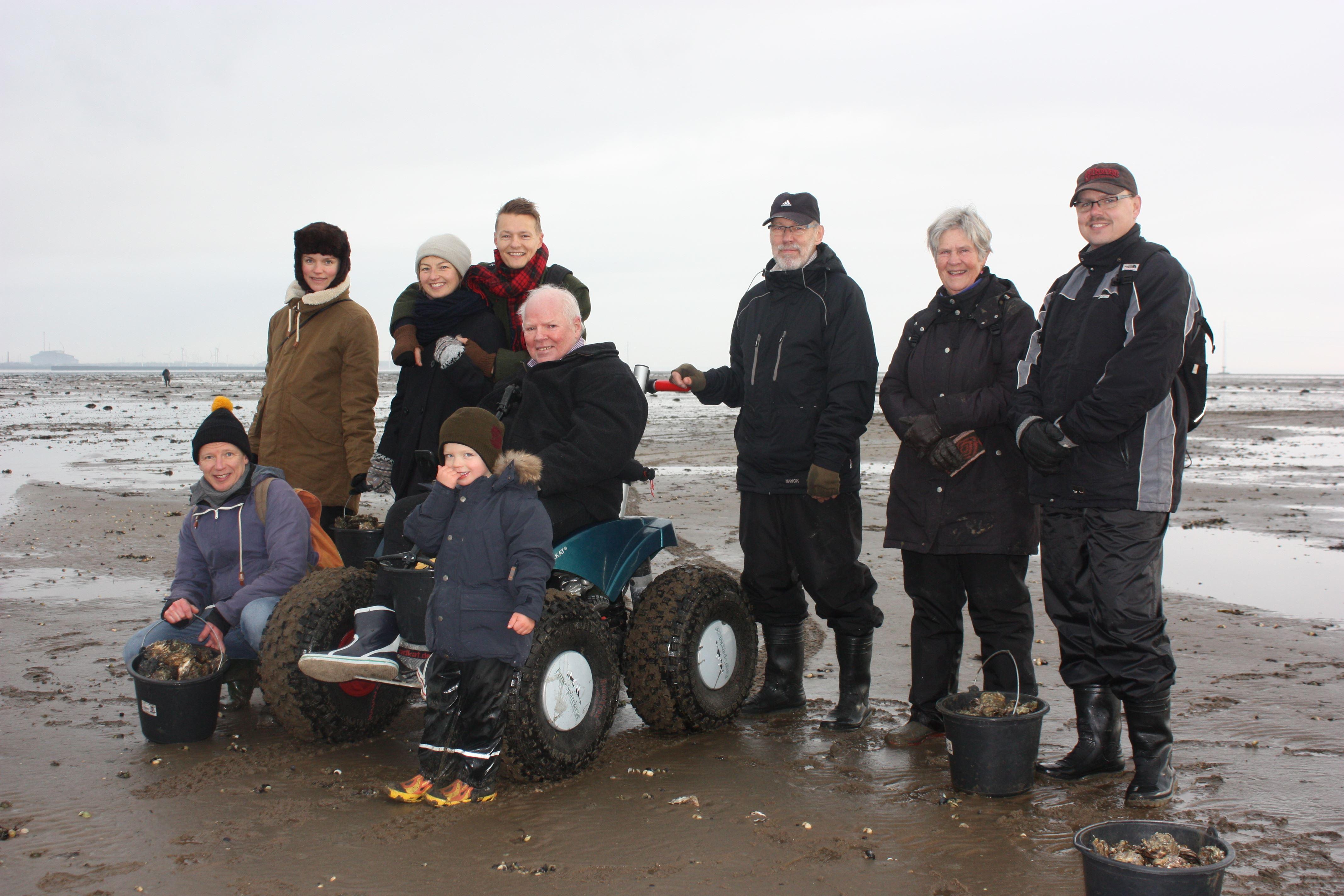 Strandtauglicher Rollstuhl