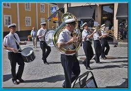 Marschkonsert med Karlshamns Musikkår