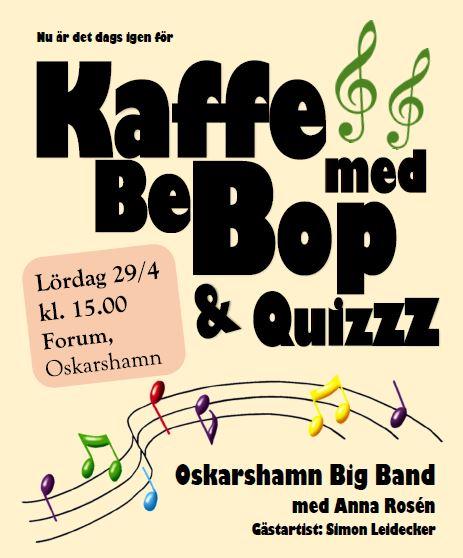 Kaffe med BeBop och Quizzz