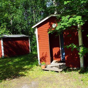 Foto: Lits Camping,  © Copy: Lits Camping, Campingstuga 8 kvm. Enkelt men bekvämt