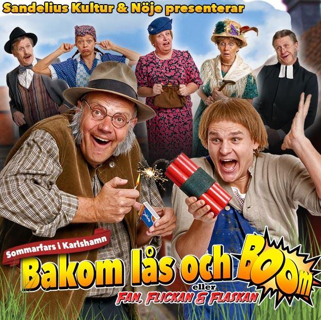 Sommarfars - Bakom lås och boom!