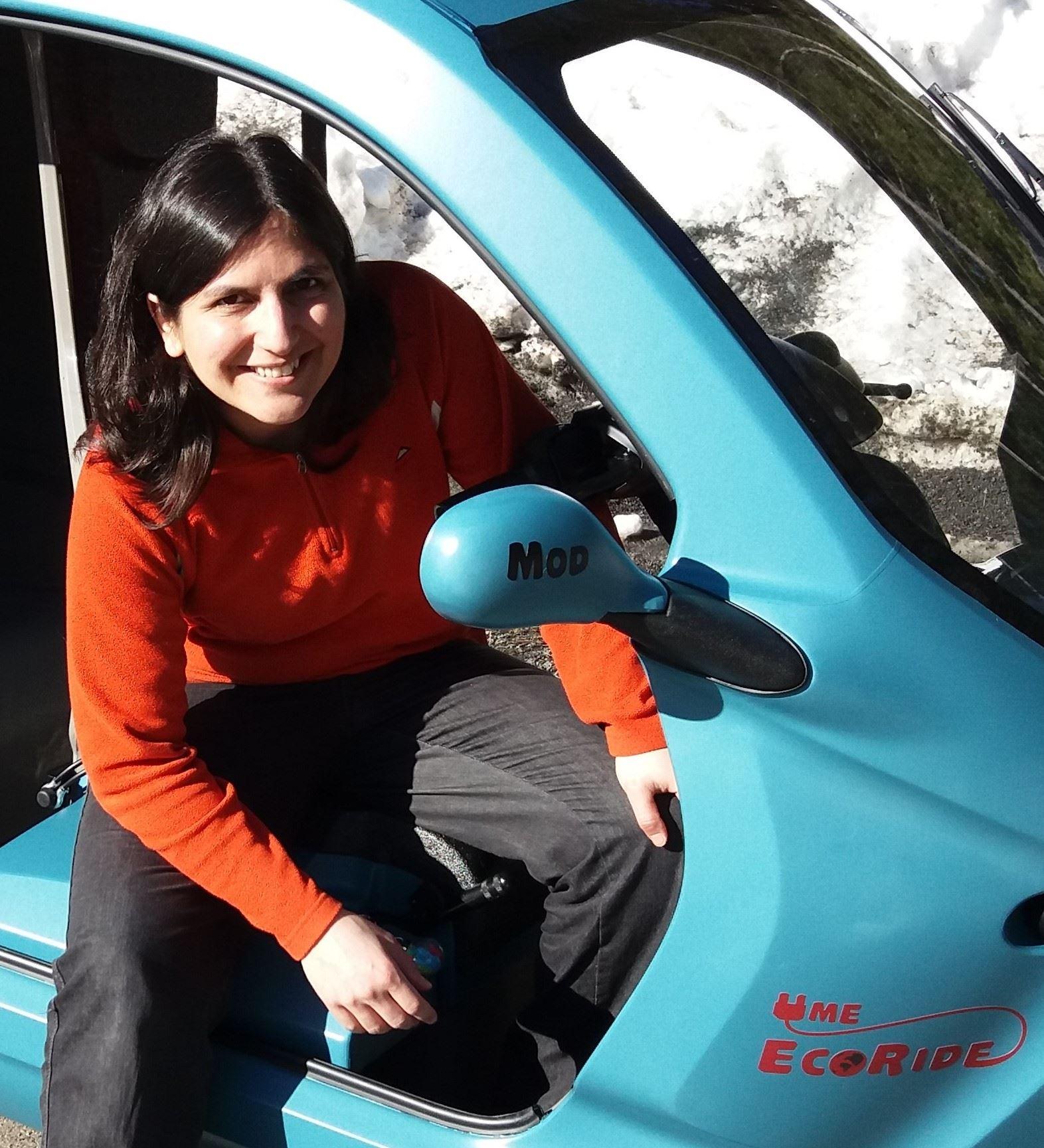 UmeEcoRide - åk trehjulig elmoped i hållbarhetens tecken