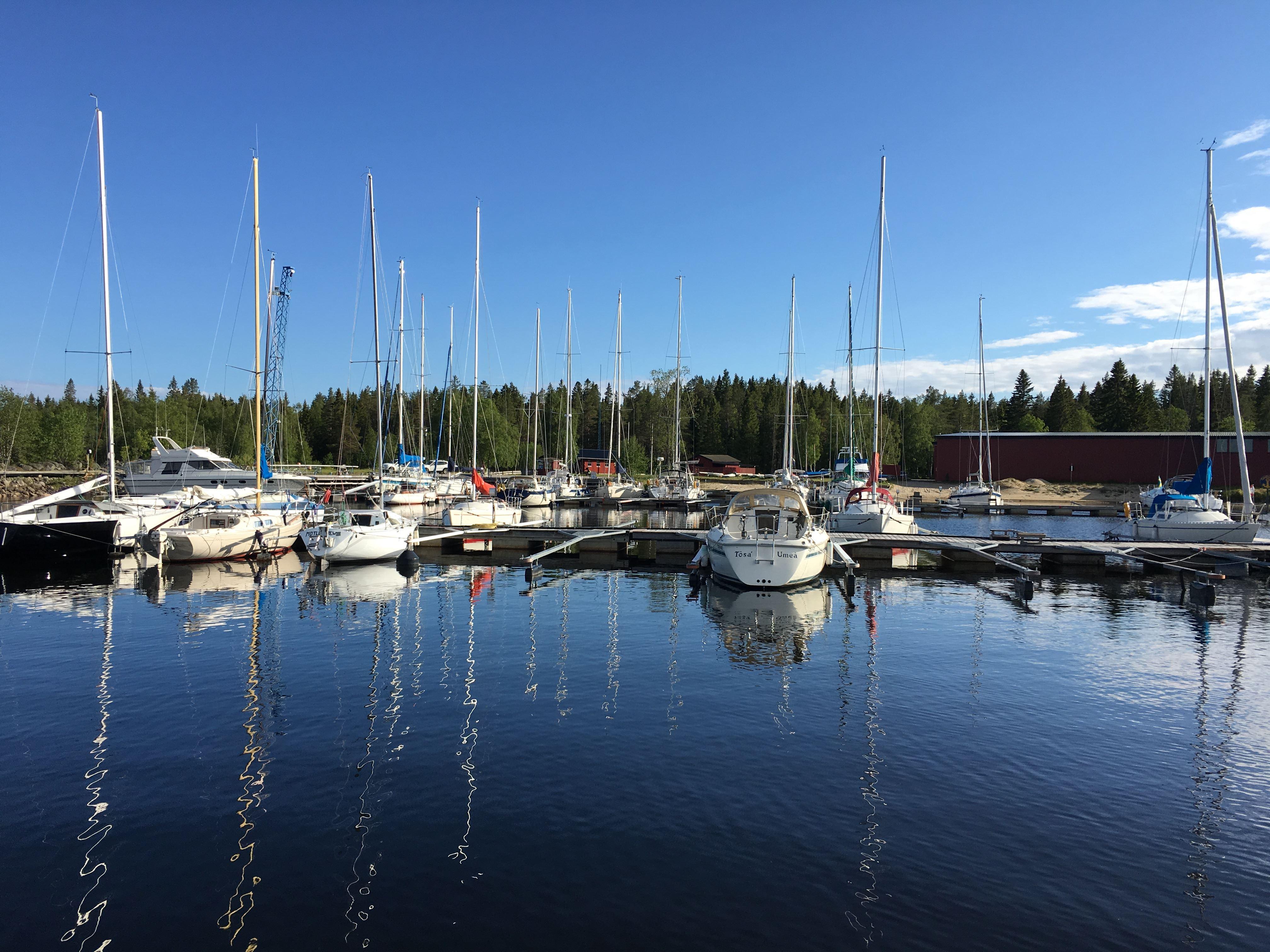 Umeå Segelsällskap,  © Umeå Segelsällskap, Bredviks båthamn, Obbola