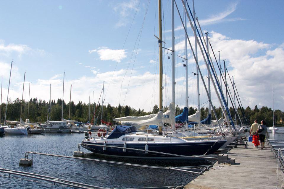 Umeå Segelsällskap,  © Umeå Segelsällskap, Bredviks båthamn i Obbola