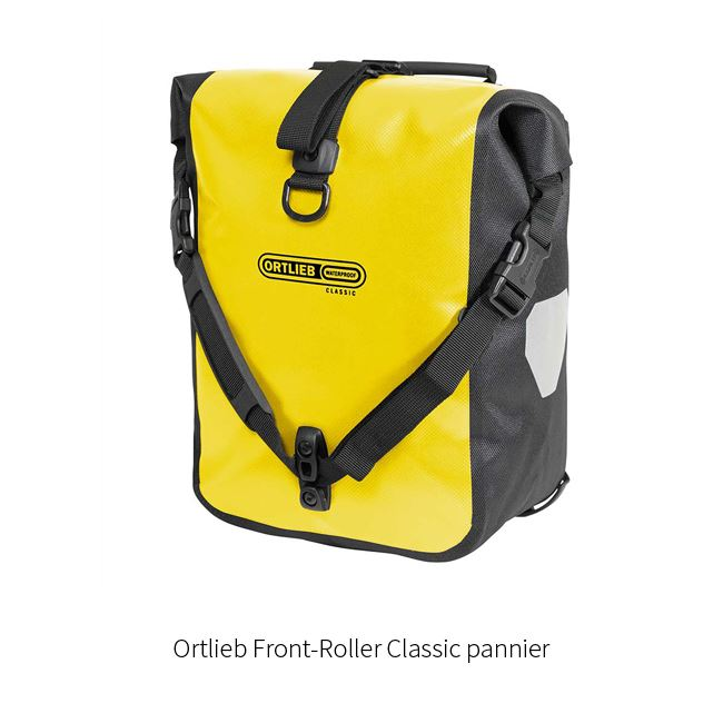 Ortlieb bike panniers - Tromsø Outdoor