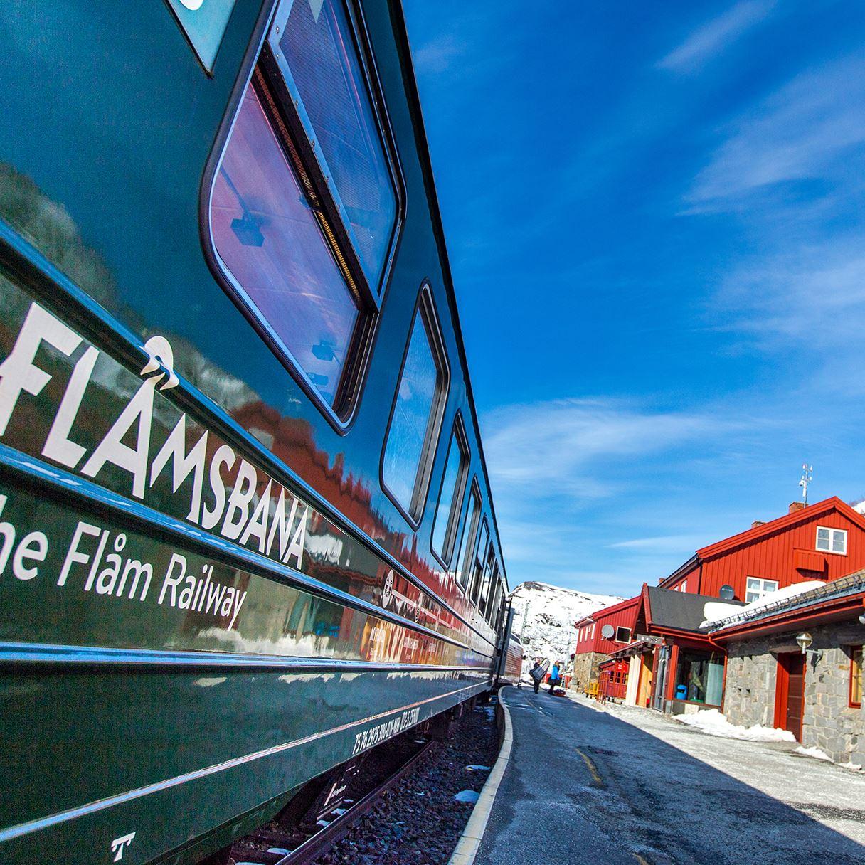 The Flåm Railway with pancakes and coffee/tea