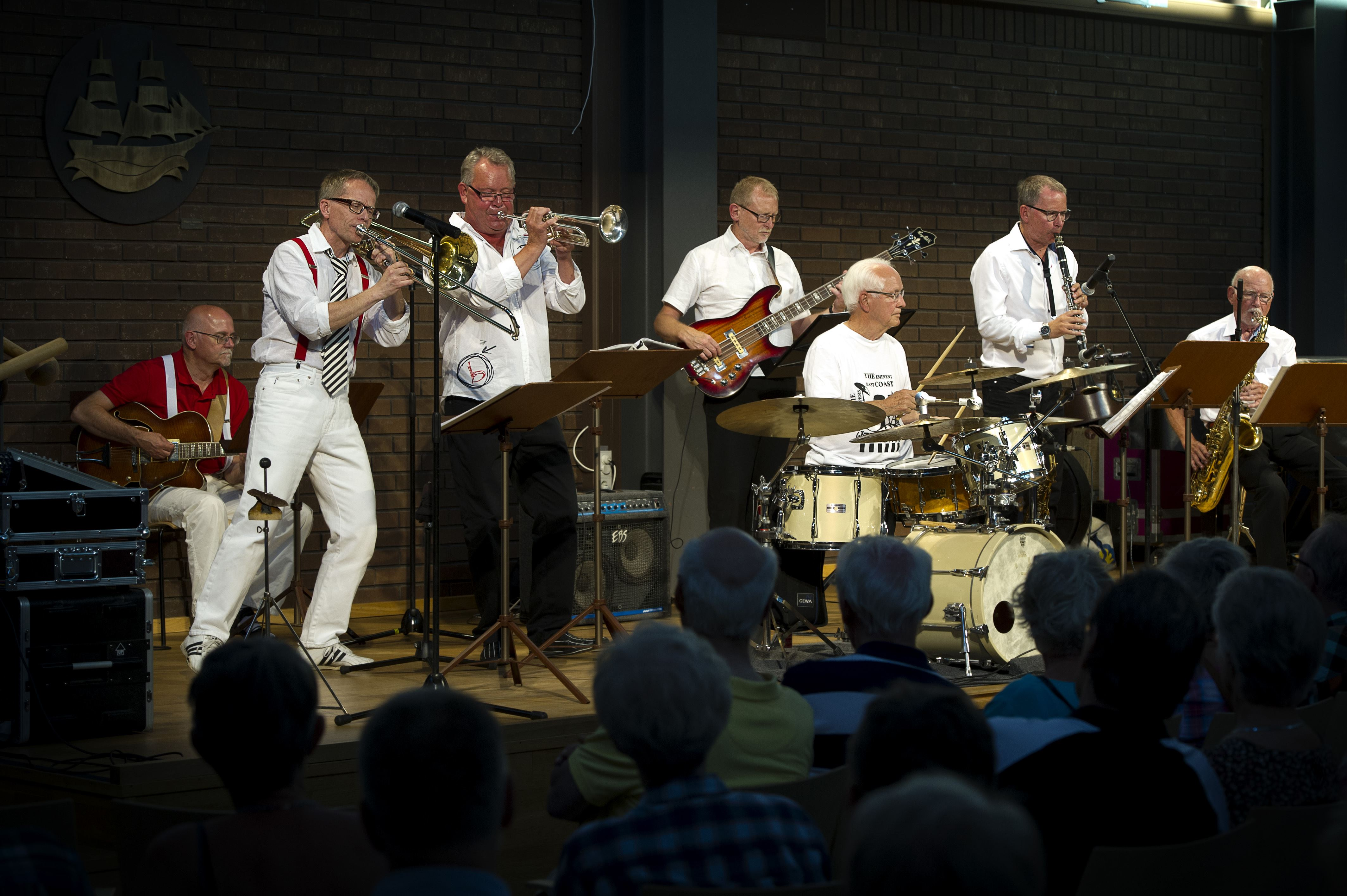 Jazzkonsert med The Eminent East Coast Dixie Stompers