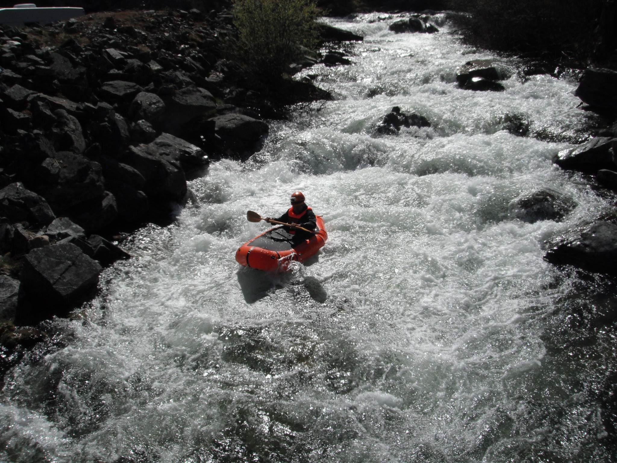 Solo-rafting i packraft