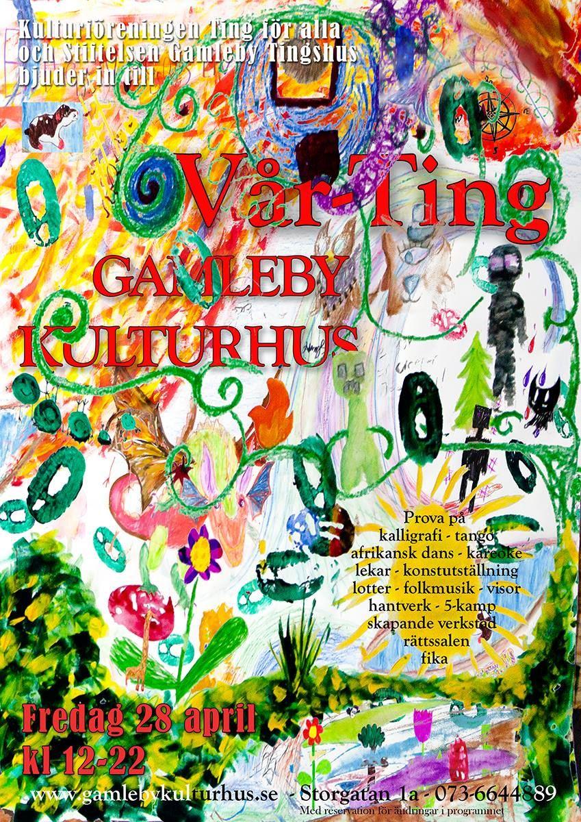 Vår-Ting i Gamleby Kulturhus