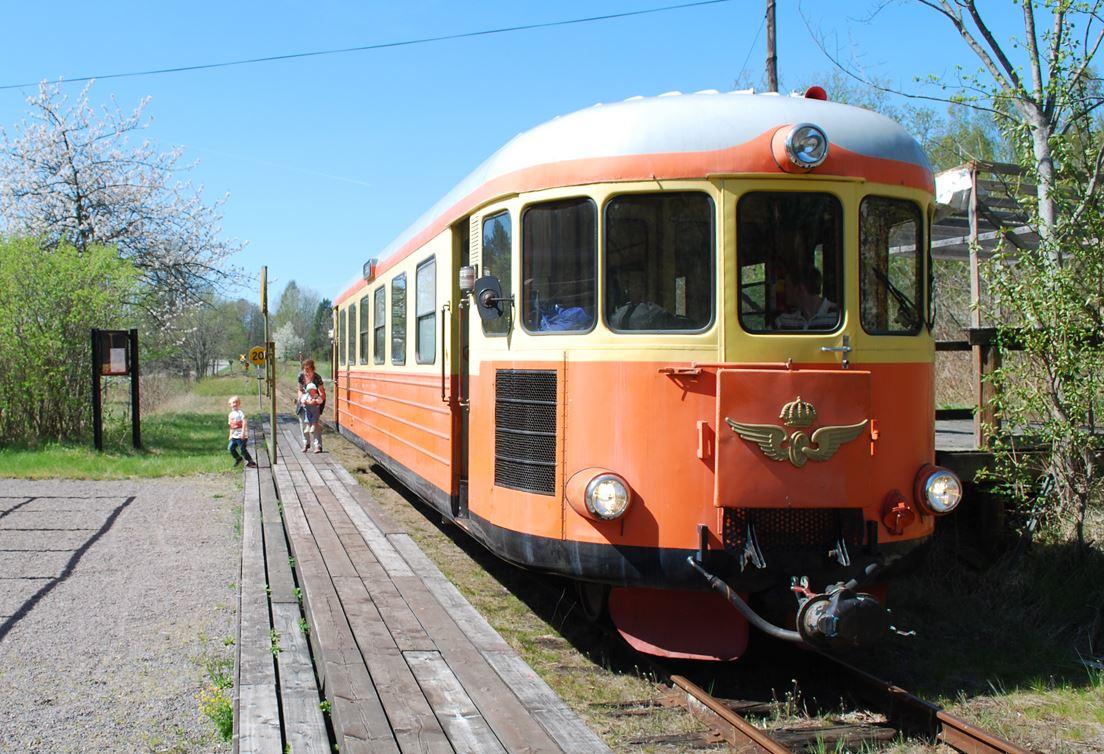 Tåg till vårruset och kosläppet i Totebo