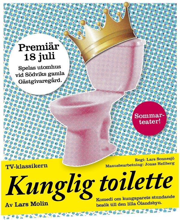 Sommarteater: Kunglig toilette!
