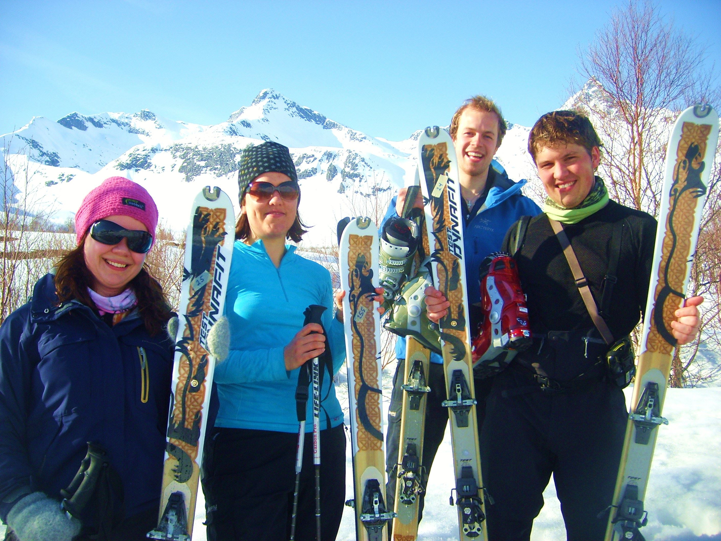 Introduction to Ski Touring – guided trip for beginners - Tromsø Outdoor