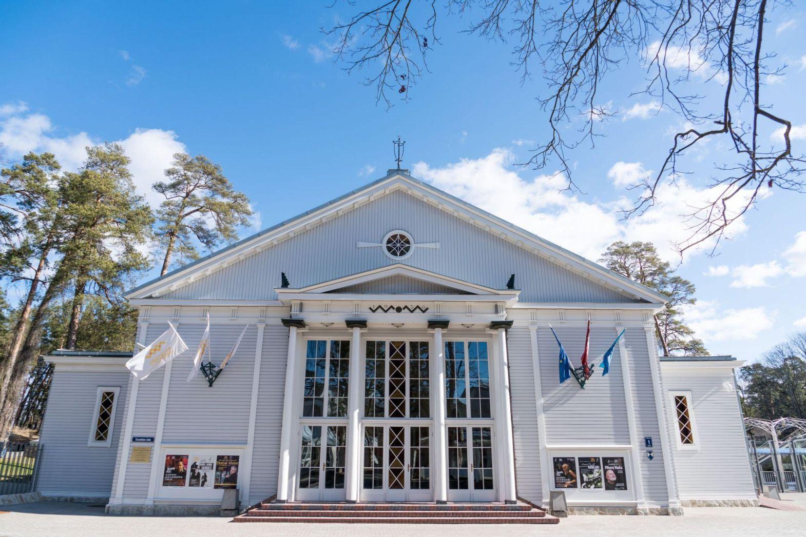 © https://www.dzintarukoncertzale.lv, Dzintari Concert Hall