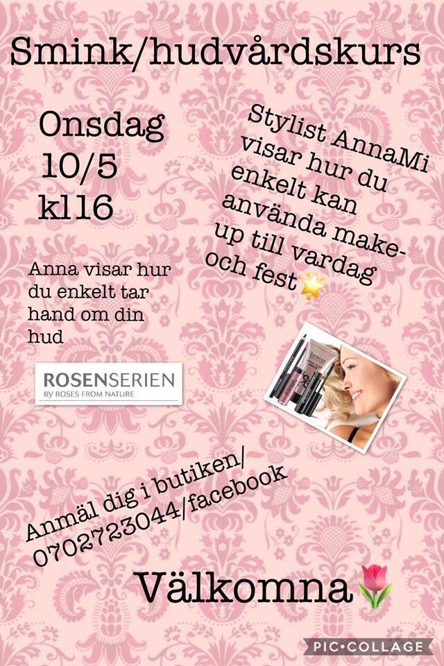 Smink/hudvårdskurs hos Den Lilla Butiken i Gamleby