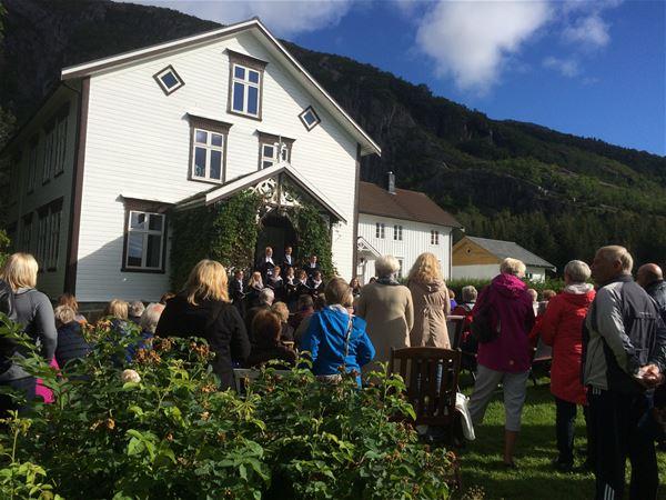 Lurøy farm - a Renaissance garden under the polar circle