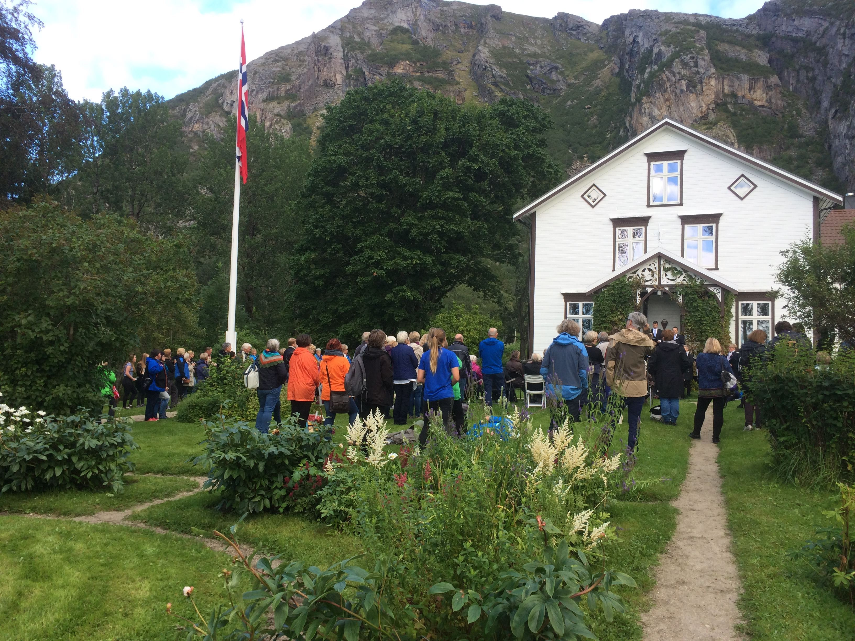 Lurøy farm - a Renaissance garden under the polar circle