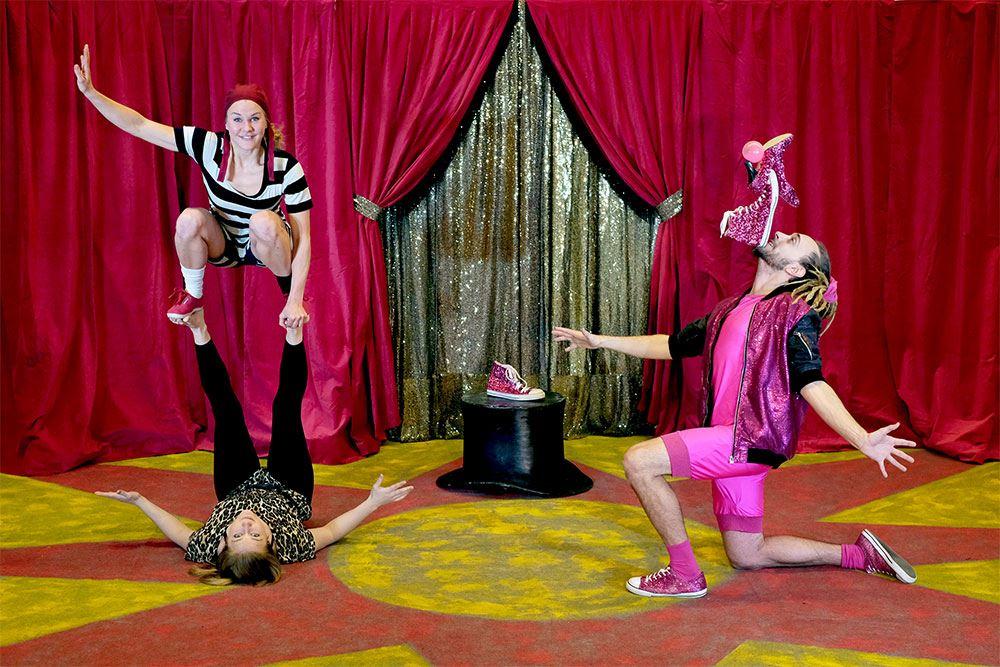 Heja dej! med Cirkus Cirkör i Fårhult