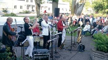 Dixie & Gladjazz musik med Dixie Stompers